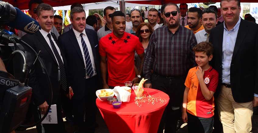 Galatasaraylı Rodrigues Çanakakkale'ye Geldi
