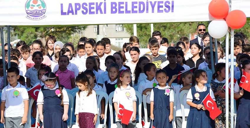 Lapseki'de İlköğretim Haftası Etkinlikleri