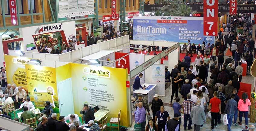 Bursa'da Tarım ve Hayvancılık Sektörü Fuarları