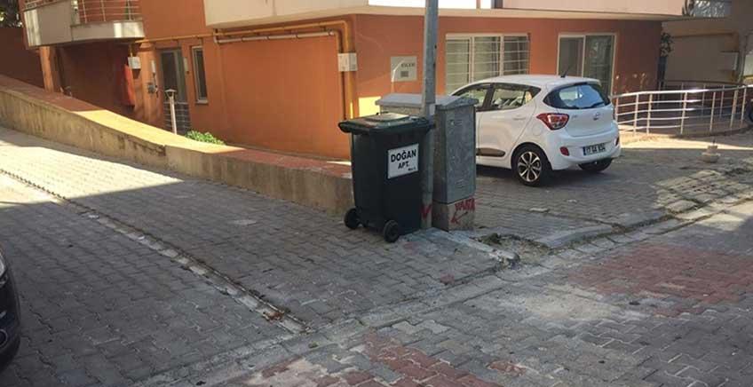 Çöp Sepetleri ve Konteynerler Temizlendi