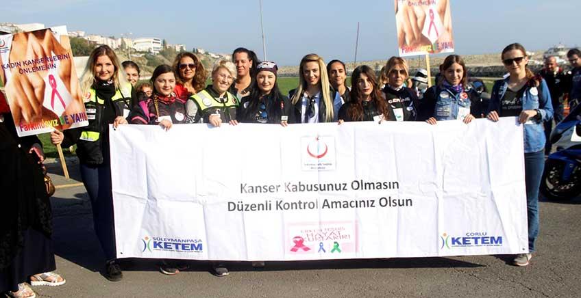 Süslü Egzoz Kadın Motosiklet Kulübü'nden Sosyal Sorumluluk