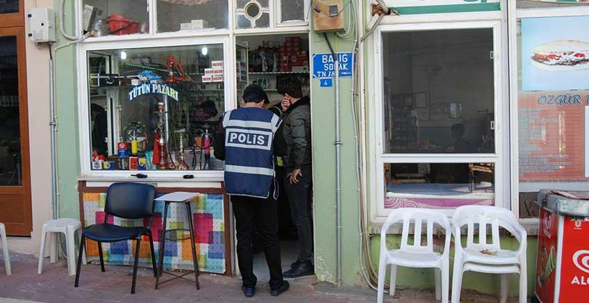 Bayramiç'te Tütün Satıcılarına Denetleme Yapıldı