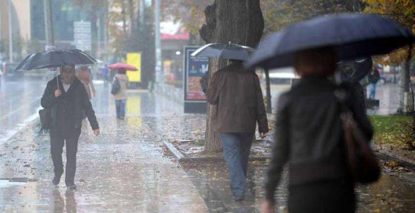 Dikkat: Şiddetli Yağış Uyarısı
