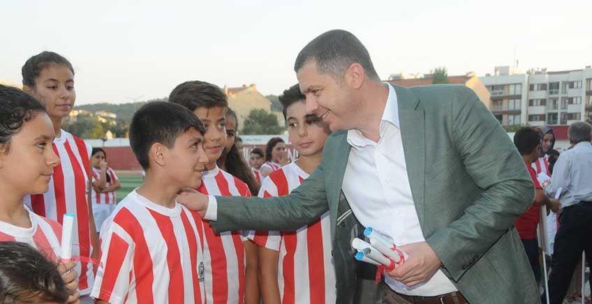 Çan Belediyesi Yaz Spor Okulları Sona Erdi