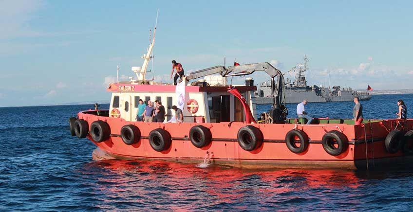 Bozcaada Yapay Resif Projesi