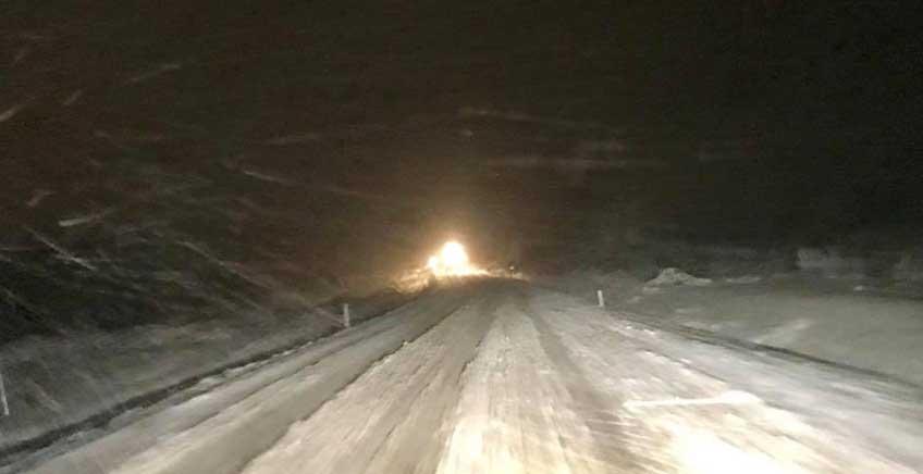 Çanakkale'de Yoğun Kar Yağışı