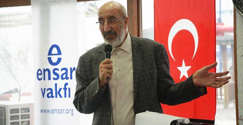 Abdurrahman Dilipak Lapseki'de Konuşma Yaptı